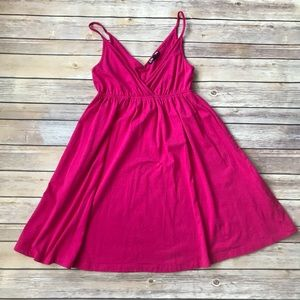 Express Flare Dress in Pink